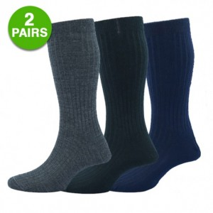 picture of 2 Pairs of Merino Wool Thermal Insulated Socks Sale