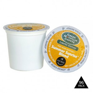 96-Pack: Green Mountain Coffee Summer Sunrise Blend Keurig 2.0 K-Cup Sale