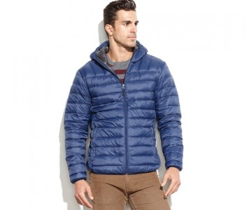 Hawke & Co. Outfitter Big & Tall Lightweight Hooded Packable Down Jacket