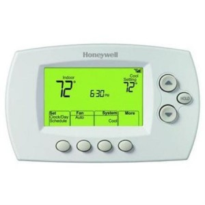 Honeywell RTH6580WF1001W White WiFi Capable Wi-Fi 7 Day Programmable