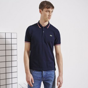 L!VE SHORT SLEEVE SEMI-FANCY PIQUE POLO Sale