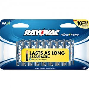 picture of Rayovac 24 AA and 24 AAA Battery Sale