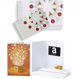 Free $20 Amazon Gift Card with $100 Nordstrom Card