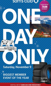 picture of Sam's Club 1 Day Sale: TVs, Video Games, Jewelry, Home, More