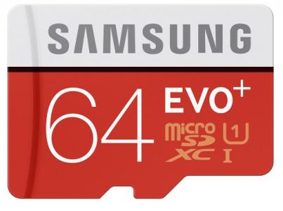 samsung 64 evo+ microsdxc card