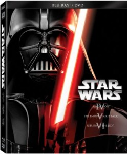 picture of Star Wars Trilogy Episodes IV-VI (Blu-ray + DVD) Sale