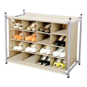 picture of StorageManiac 16 Compartment Shoe Rack Sale