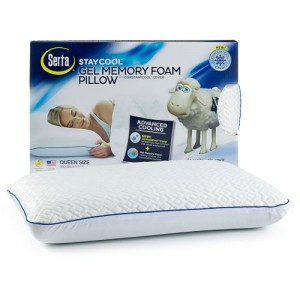 Serta Stay Cool Gel Memory Foam Pillow
