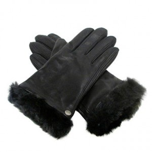 picture of UGG Classic Leather Gloves