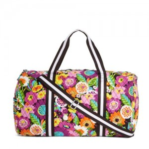Vera Bradley Round Duffel Travel Bag Sale