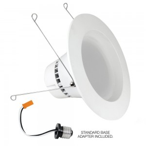 Feit LED Retrofit Kit for Recessed Cans, 100 Watt Equivalent