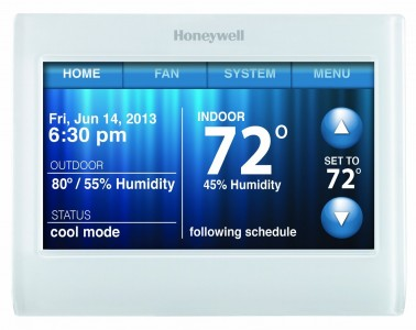 Honeywell 9000 Color Touchscreen Programmable Wi-Fi Thermostat Sale
