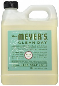 Mrs. Meyers Liquid Hand Soap Refill, Basil Scent Sale