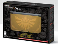 Nintendo 3DS XL Hyrule Gold Edition Sale