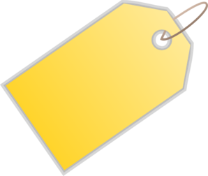 price-tag-yellow