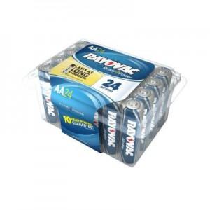 Rayovac 24 Pack AA Alkaline Battery Sale