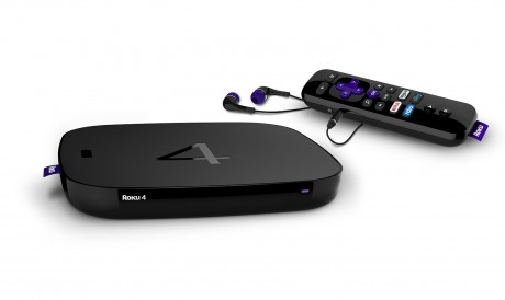 picture of Roku 4 4K Ultra HD Streaming Media Player Refurbished Sale