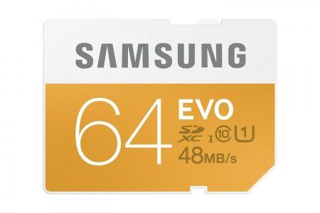 Samsung 64GB EVO MicroSDXC w/Adapter Sale