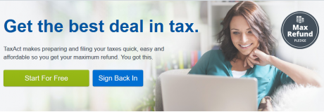 picture of Tax Preparation Software 2019 Discounts - Turbo Tax, TaxAct