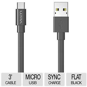 Ultra MicroUSB 3ft Charging Cable Sale