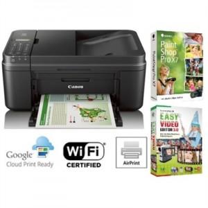 Canon PIXMA MX492 Wireless Printer w PaintShop Pro Software Sale