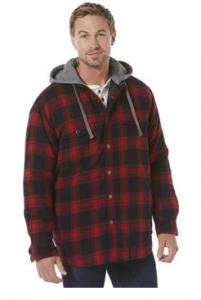 Craftsman Men's Flannel Shirt Jacket Sale