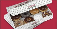 Krispy Kreme Donuts dozen for 2.99