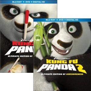 Kung Fu Panda and Kung Fu Panda 2 Bundle