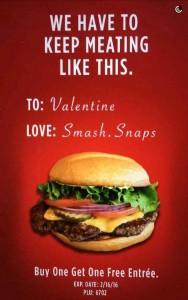 Smashburger buy one get one