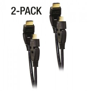 Adjustable 180 Degree HDMI Cable 2 Pack Sale