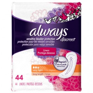 Always Discreet, Incontinence Liners Sale