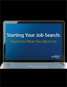 Free Starting Your Job Search eBook