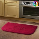 Memory Foam Kitchen Floor Mat 18x27