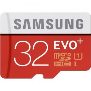 picture of Samsung 32GB EVO+ MicroSDXC w/Adapter Sale