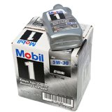 Mobil 1 5W-30 Synthetic motor oil 6 pack sale