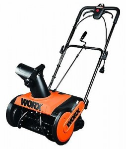 Worx WG650 18in electric snow blower