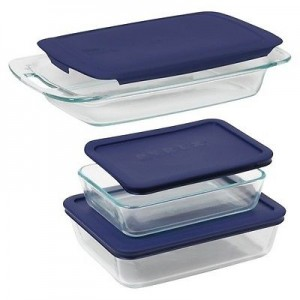 picture of Pyrex 6 Piece Bake N' Storage Value Pack