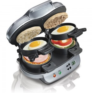 picture of Hamilton Beach Dual Breakfast Sandwich Maker Sale