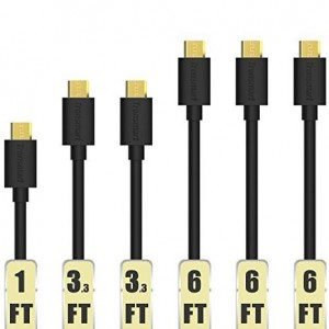 Tronsmart Premium Micro USB Cable 6 pack Sale