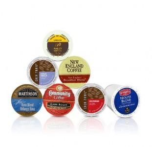 10 Single Cup Coffee Pods Sample Box
