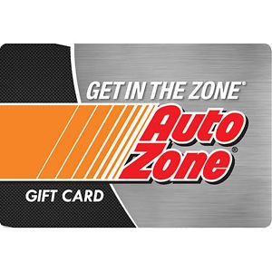 $100 AutoZone Gift Card For Only $90 – Mail Delivery