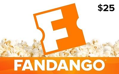 picture of 14% off Fandango $25 Gift Card