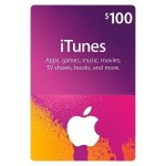 20% off iTunes $100 Gift Card