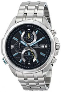 picture of Casio Men's EFR-536D-1A2VCF Neon Illuminator Stainless Steel Watch