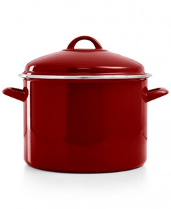 picture of Martha Stewart Collection 6 Qt. Enamel Cast Iron Casserole Sale