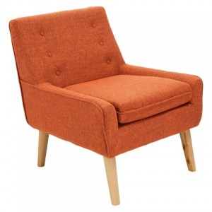 Reese Tufted Fabric Retro Chair - Christopher Knight Home