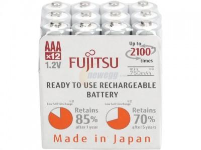 fujitsu aaa rechargeable batteries
