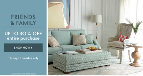 picture of Horchow Friends & Family Sale