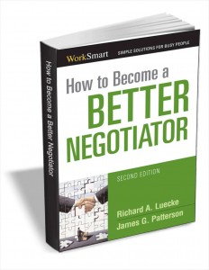 Free How to Become a better negotiator ebook