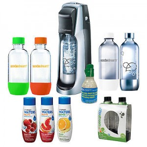 picture of SodaStream Jet Home Soda Maker Sale - 6 Bottles, 3 Flavors